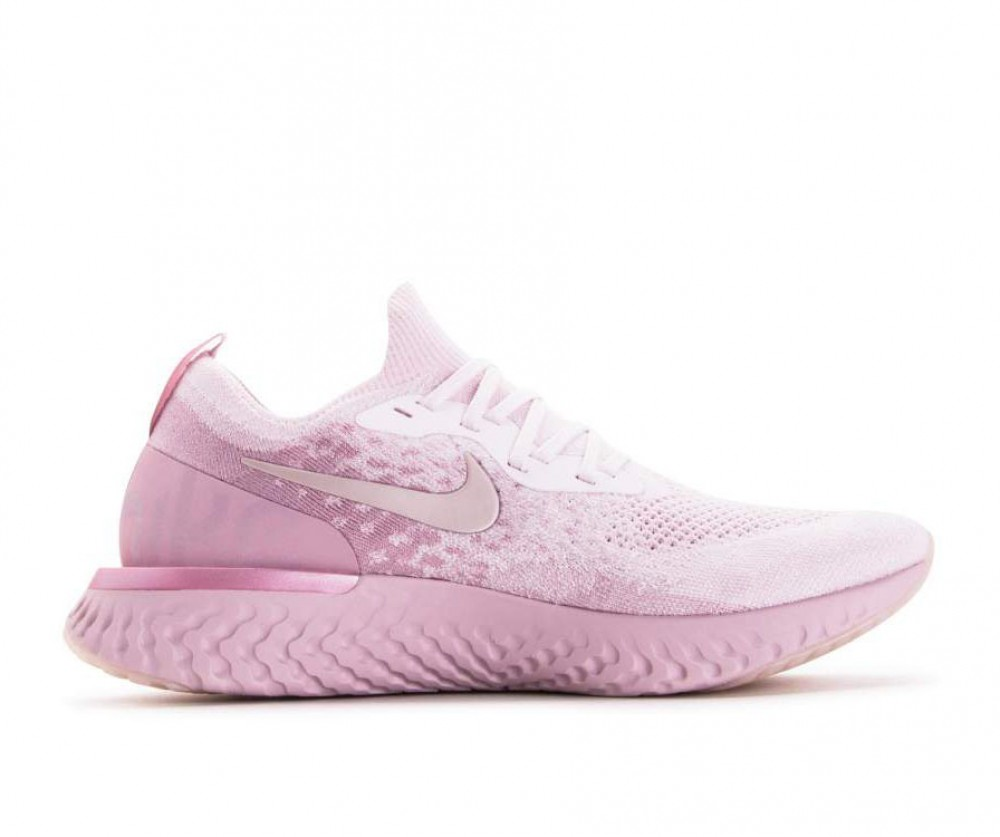 reputable site 6dbd0 74052 Altre viste. AQ0067-600 Nike Epic React Flyknit - Rosa Rosa Barely Rose