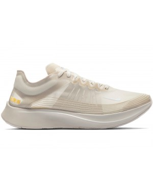 AJ9282-002 Nike Zoom Fly Sp Scarpe - Light Bone/Light Bone/Bianche