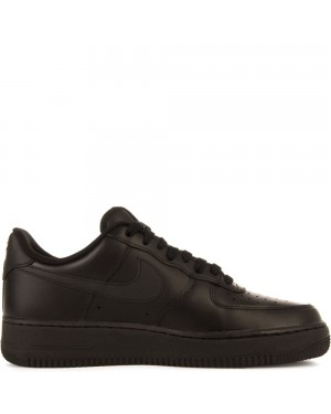 315122-001 Nike Air Force 1 Scarpe - Nere/Nere