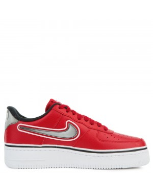 AJ7748-600 Nike Air Force 1 '07 Lv8 Sport - Rosse/Nere-Bianche