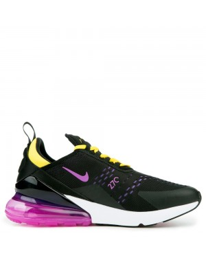 AH8050-006 Nike Air Max 270 Scarpe - Nere/Hyper Magenta/Hyper Grape
