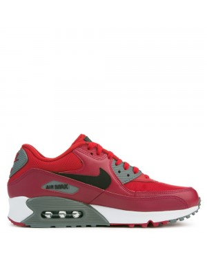 537384-606 Nike Air Max 90 Essential - Gym Rosse/Nere/Rosse