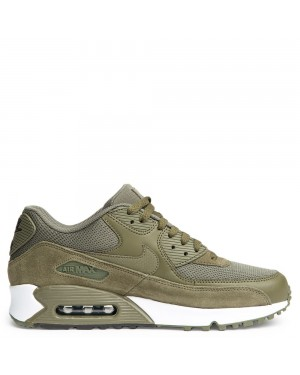 537384-201 Uomo Nike Air Max 90 Essential - Olive/Marroni