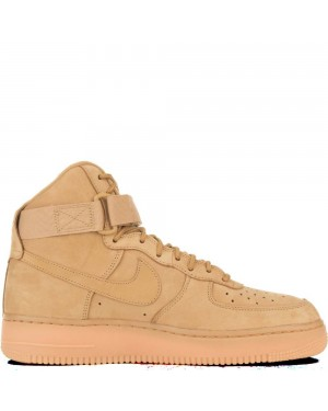 882096-200 Uomo Nike Air Force 1 High Scarpe - Wheat/Wheat/Marroni