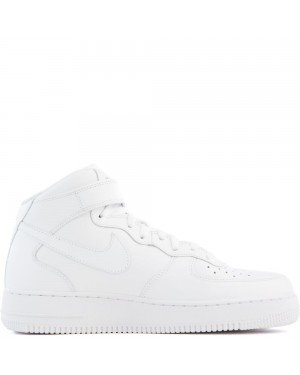 315123-111 Nike Air Force 1 Mid '07 Scarpe - Bianche/Bianche