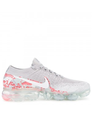 AH8448-001 Nike Air Vapormax Flyknit - Grigio/Bianche/Hot Punch