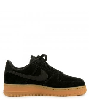 AA0287-002 Nike Air Force 1 '07 Special Edition - Nere/Nere-Gum Marroni