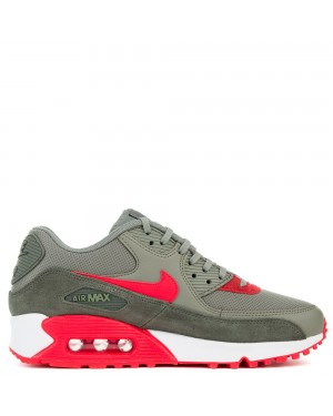 325213-044 Nike Air Max 90 - River Rock/Rosse-Dark Stucco