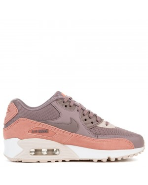 325213-611 Donne Nike AIR MAX 90 - Rosse/Grigio/Bianche