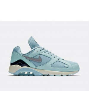 AV3734-400 Nike Air Max 180 Scarpe - Ocean Bliss/Metallic Silver-Igloo
