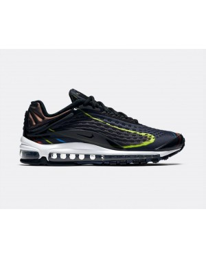 AJ7831-001 Nike Air Max Deluxe - Nere/Midnight Navy-Argento