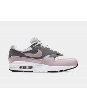 319986-032 Nike Donne Air Max 1 - Grigio/Particle Rose-Gunsmoke-Nere