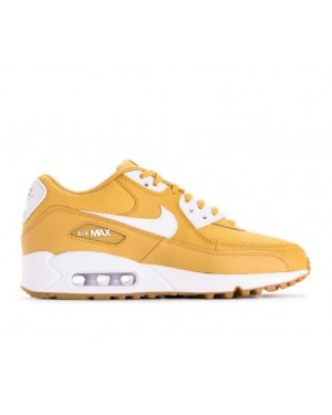 325213-701 Nike Donne Air Max 90 Scarpe - Wheat Oro/Bianche-Marroni