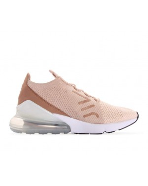 AH6803-801 Nike Donne Air Max 270 Flyknit - Guava Ice/Beige-Desert Dust