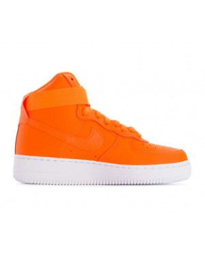 BQ7925-800 Nike Donne Air Force 1 High LX Leather JDI - Arancioni/Bianche