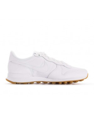 828407-103 Nike Donne Internationalist - Bianche/Bianche-Marroni