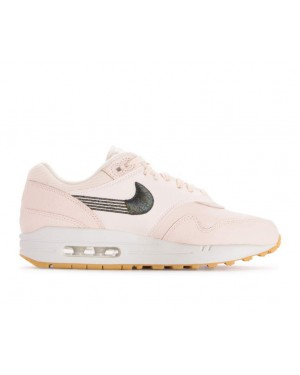 454746-800 Nike Donne Air Max 1 Scarpe - Guava Ice/Guava Ice-Gialle