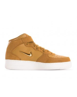 804609-200 Nike Air Force 1 Mid 07 Lv8 - Muted Bronze/Metallic Gold-Bianche