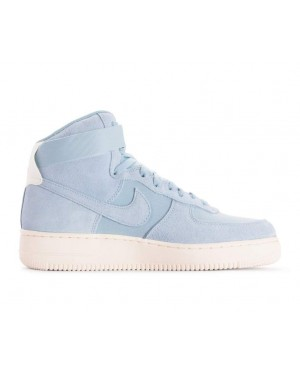 AQ8649-400 Nike Air Force 1 High '07 Suede - Ocean Bliss/Ocean Bliss-Sail