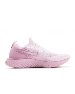AQ0067-600 Nike Epic React Flyknit - Rosa/Rosa/Barely Rose