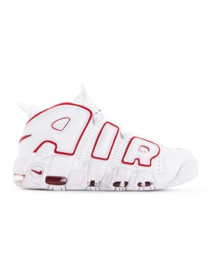 921948-102 Nike Air More Uptempo 96 Scarpe - Bianche/Rosse/Bianche