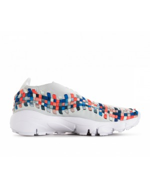 917698-201 Nike Donne Air Footscape Woven - Moon Particle/Grigio/Deep Jungle