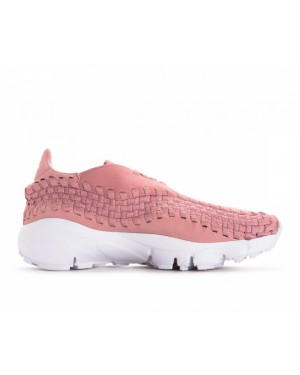 917698-602 Nike Donne Air Footscape Woven - Rosa/Rosa/Bianche