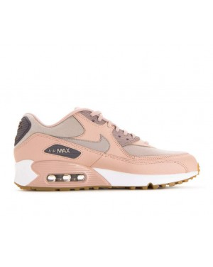 325213-206 Nike Donne Air Max 90 - Beige/Moon Particle-Gunsmoke