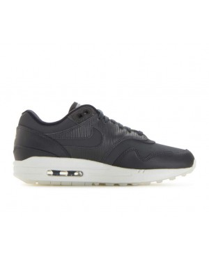 454746-016 Nike Donne Air Max 1 Premium - Anthracite/Nere-Bianche