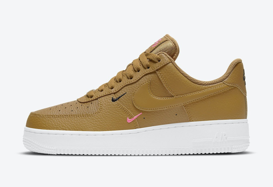 CT1989-700 Nike Air Force 1 Low Scarpe - Wheat/Rosa-Bianche