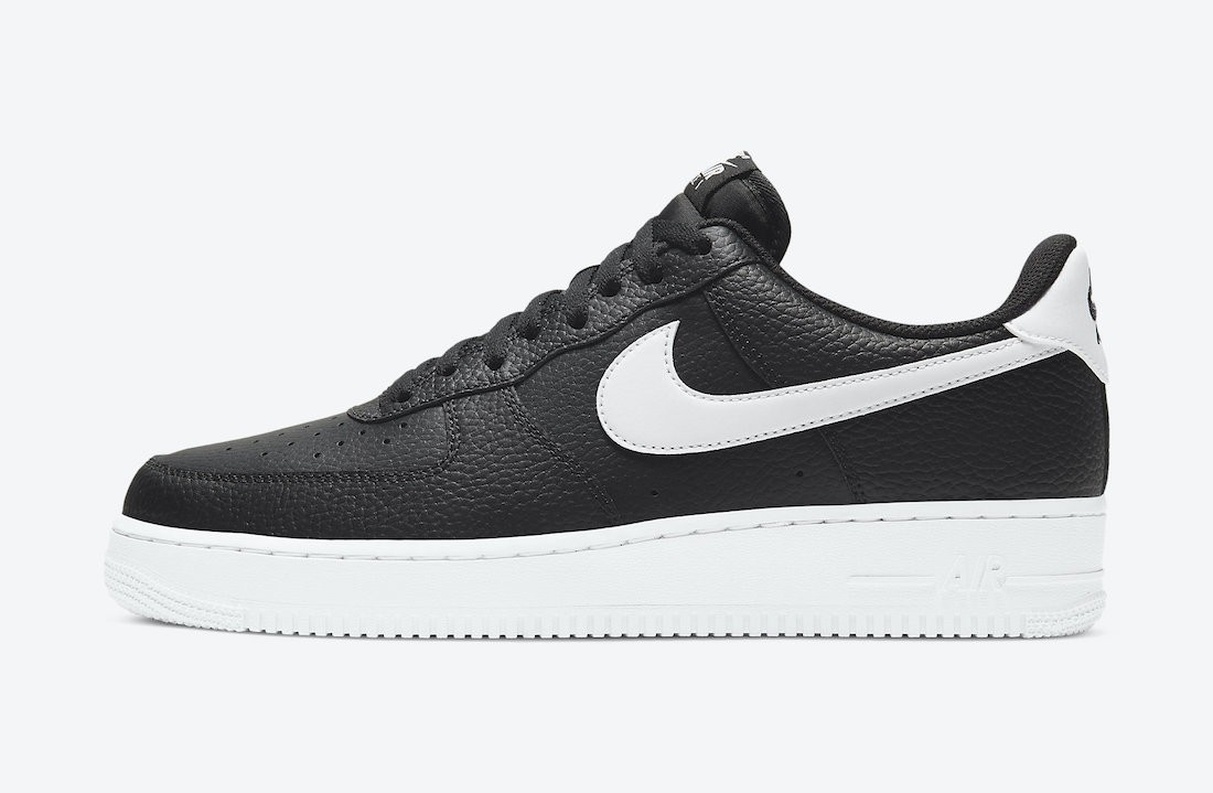 CT2302-002 Nike Air Force 1 Low Scarpe - Nere/Bianche