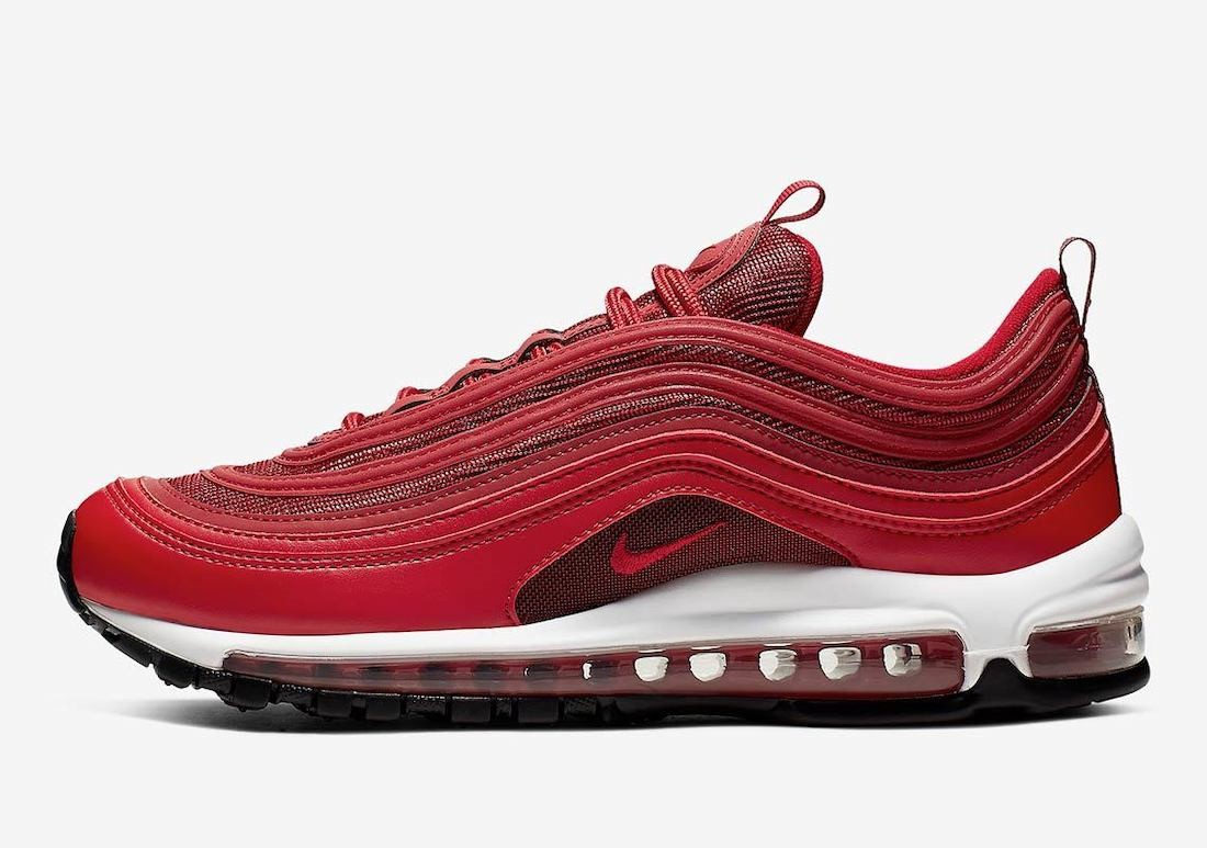 CQ9896-600 Nike Donne Air Max 97 - Rosse/Nere-Bianche-Rosse