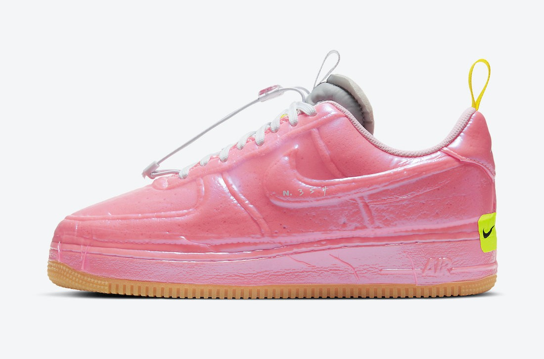 CV1754-600 Nike Air Force 1 Low Experimental - Rosa/Arctic Punch-Gialle