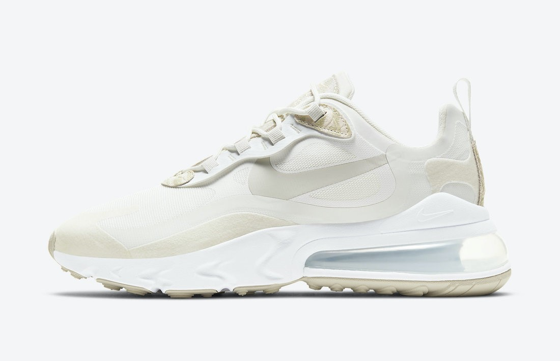 CV8815-100 Nike Donne Air Max 270 React Scarpe - Sail/Cream