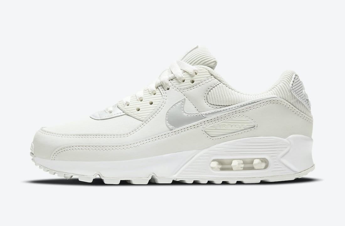 DC1161-100 Nike Air Max 90 Donne - Bianche/Dark Beetroot-Bianche