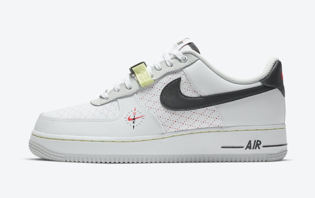 """DC2526-100 Nike Air Force 1 Low """"Fresh Perspective"""" - Bianche/Nere"""