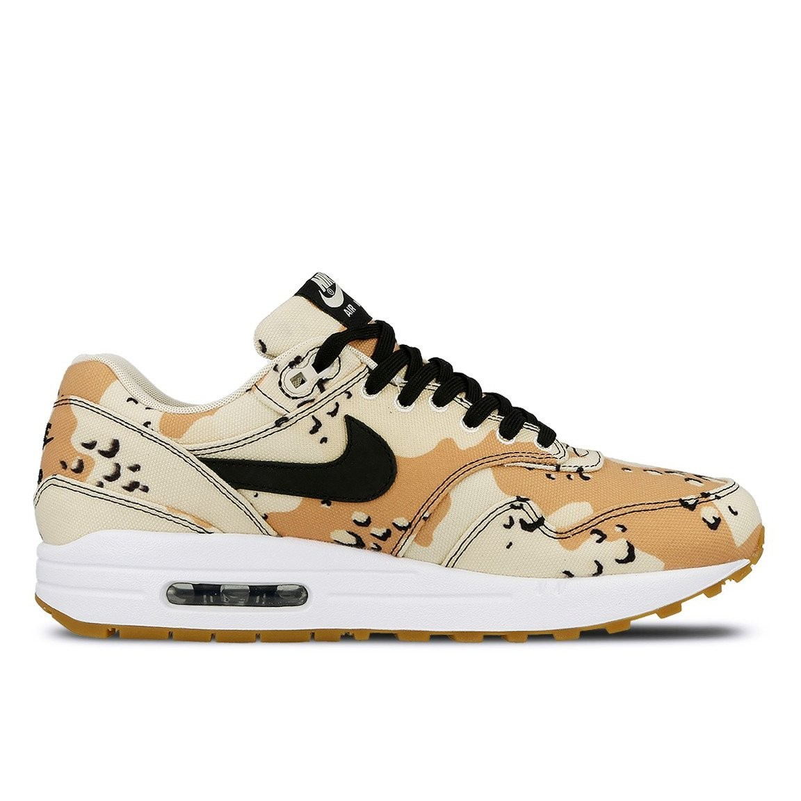875844-204 Nike Air Max 1 Premium Scarpe - Beach/Nere-Praline-Light Cream