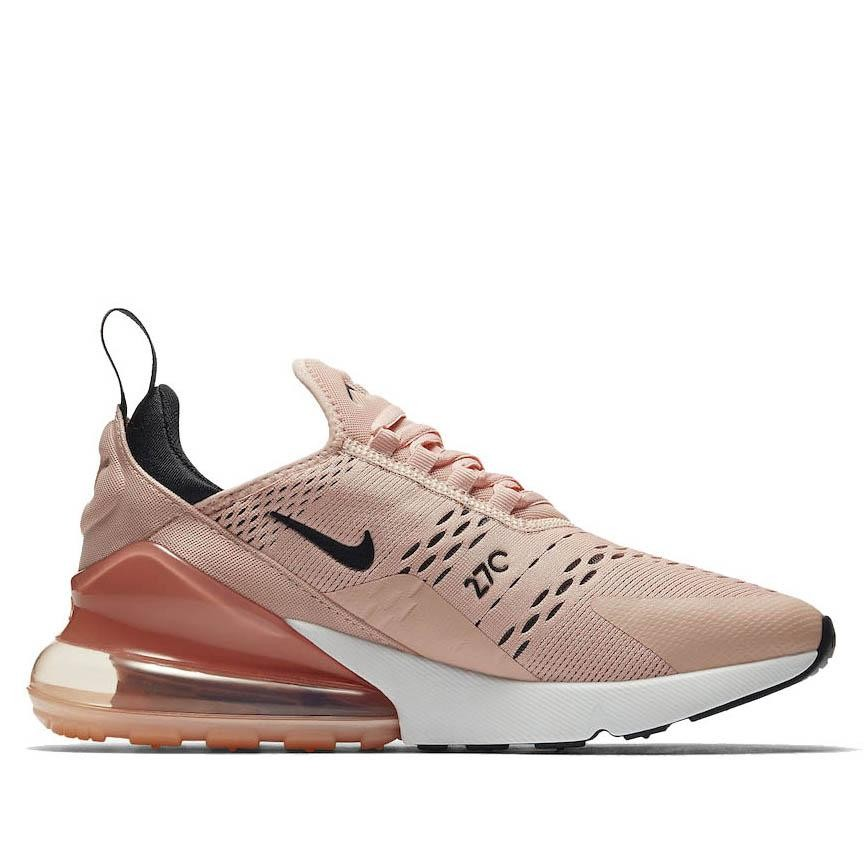 AH6789-600 Nike Donne Air Max 270 Scarpe - Coral Stardust/Nere/Rosa