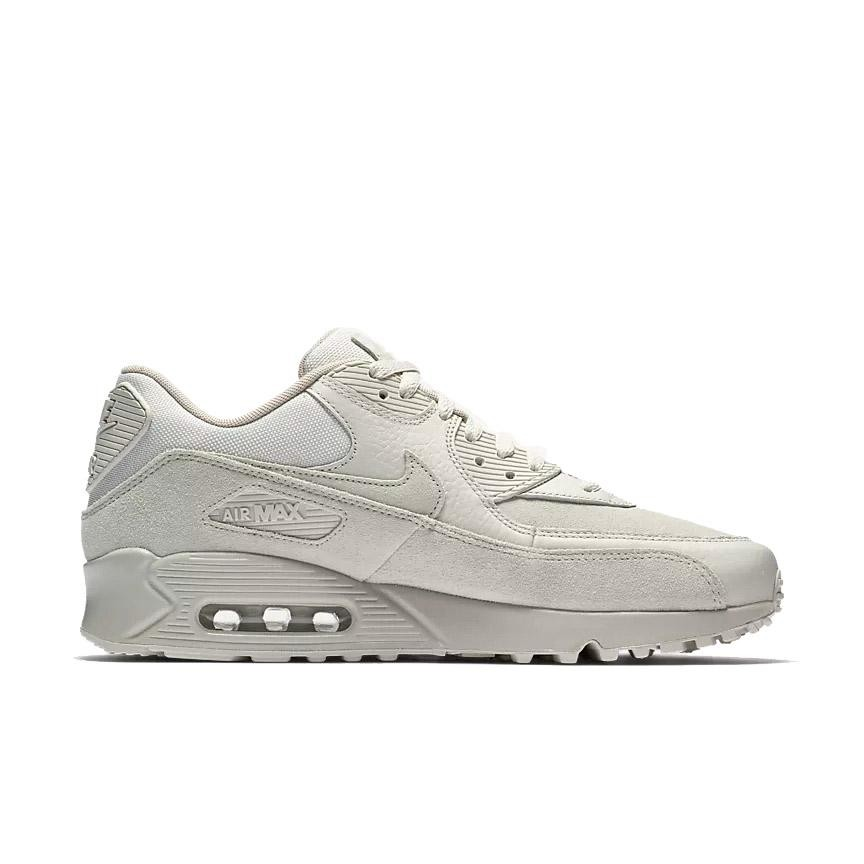 700155-013 Nike Air Max 90 Premium Scarpe - Light Bone/String