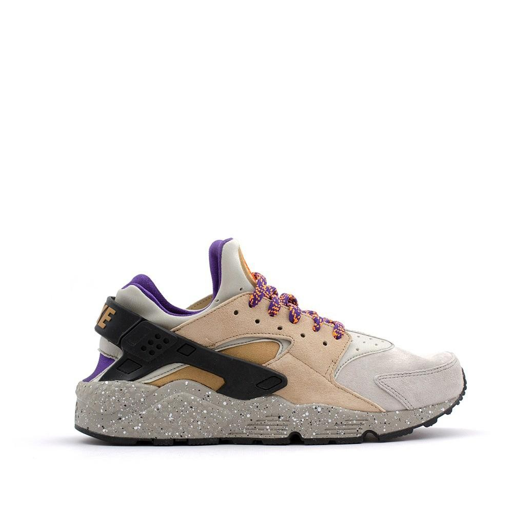 704830-200 Nike Air Huarache Run PRM Uomo - Linen/Golden/Beige