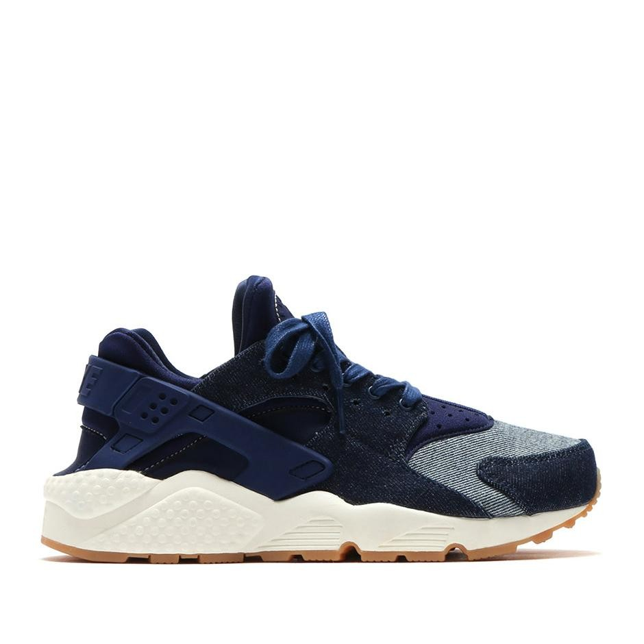 859429-401 Nike Donne Air Huarache Run SE Scarpe - Blu/Gum