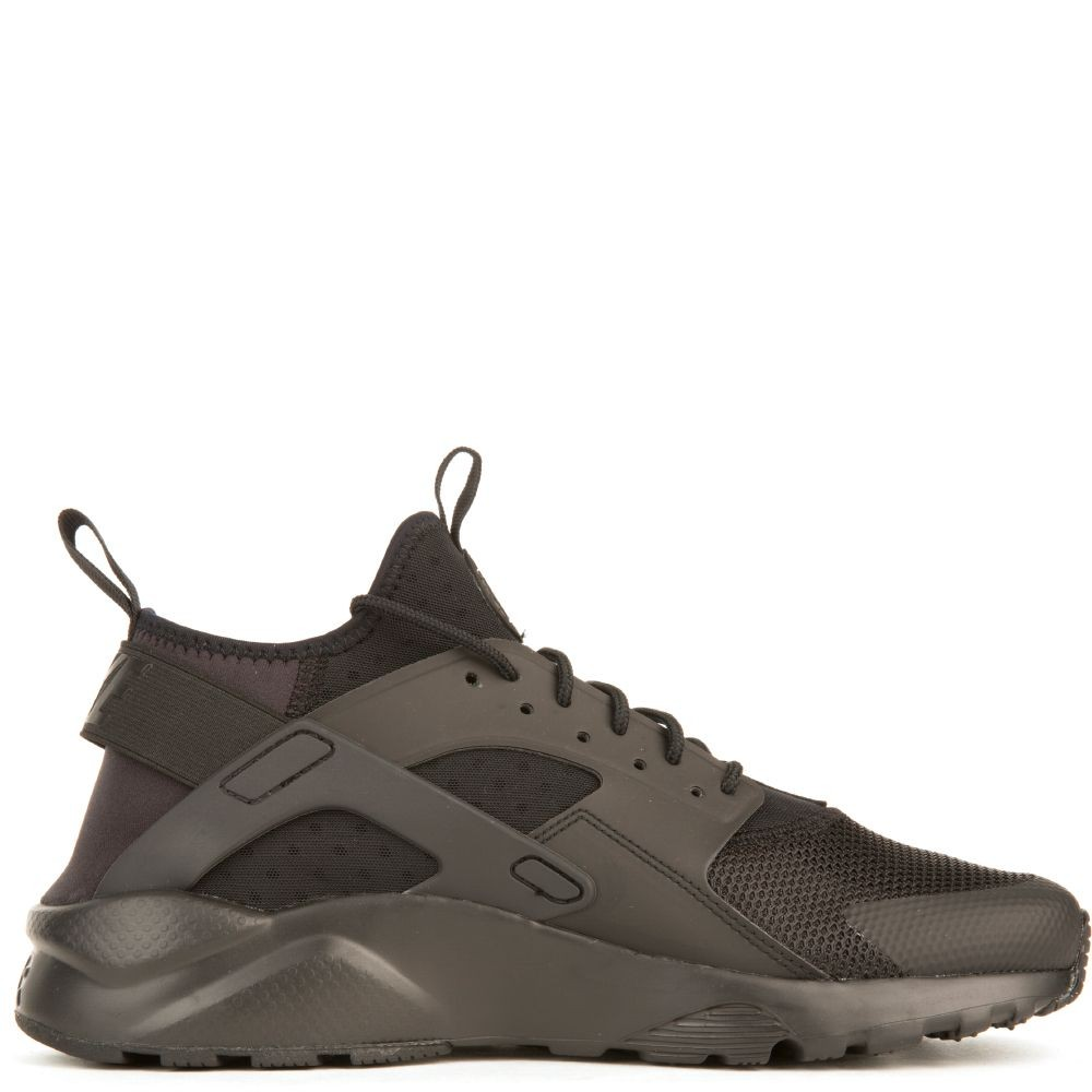 819685-002 Uomo Nike Air Huarache Run Ultra - Nere/Nere-Nere