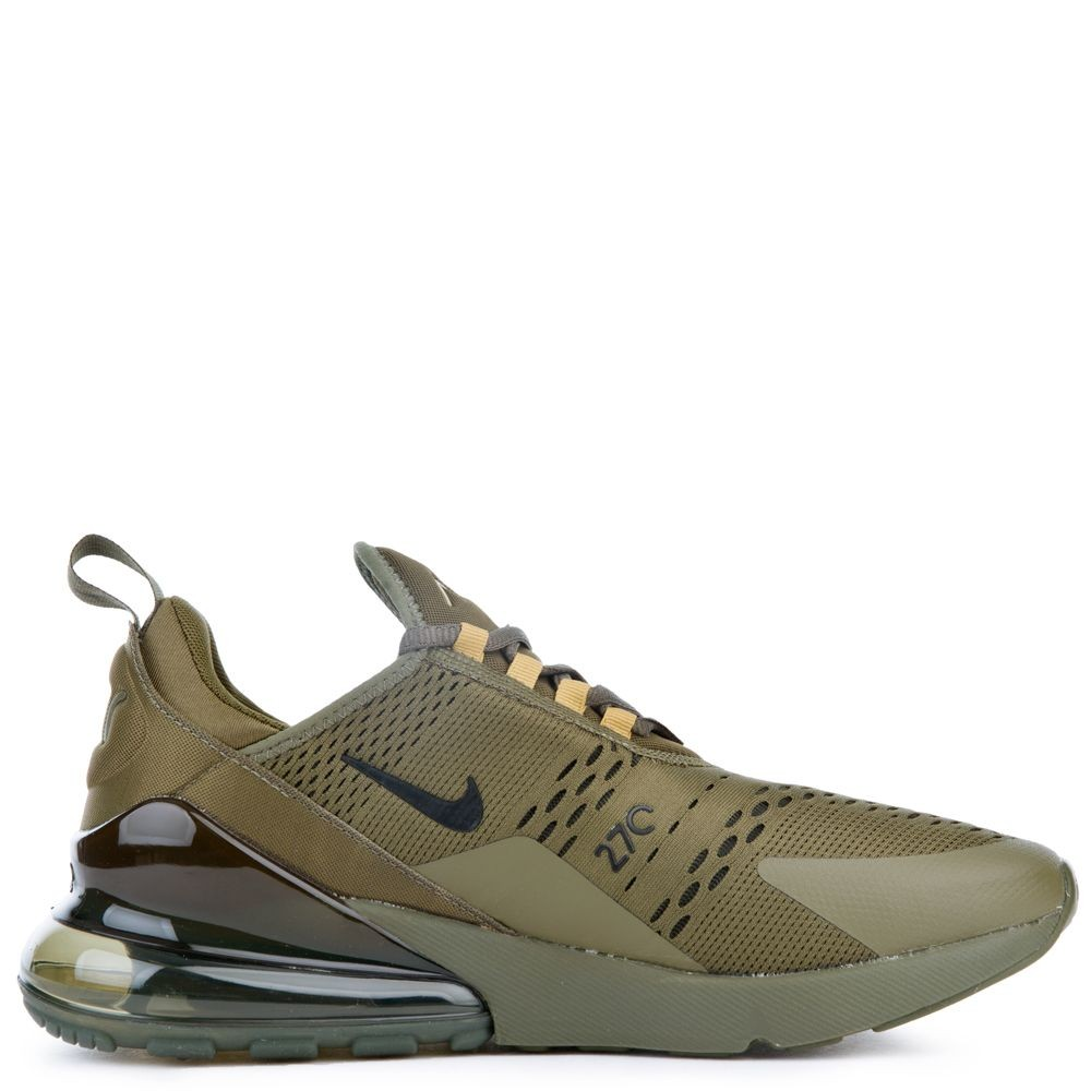 AH8050-301 Nike Air Max 270 Scarpe - Olive Canvas/Nere-Olive