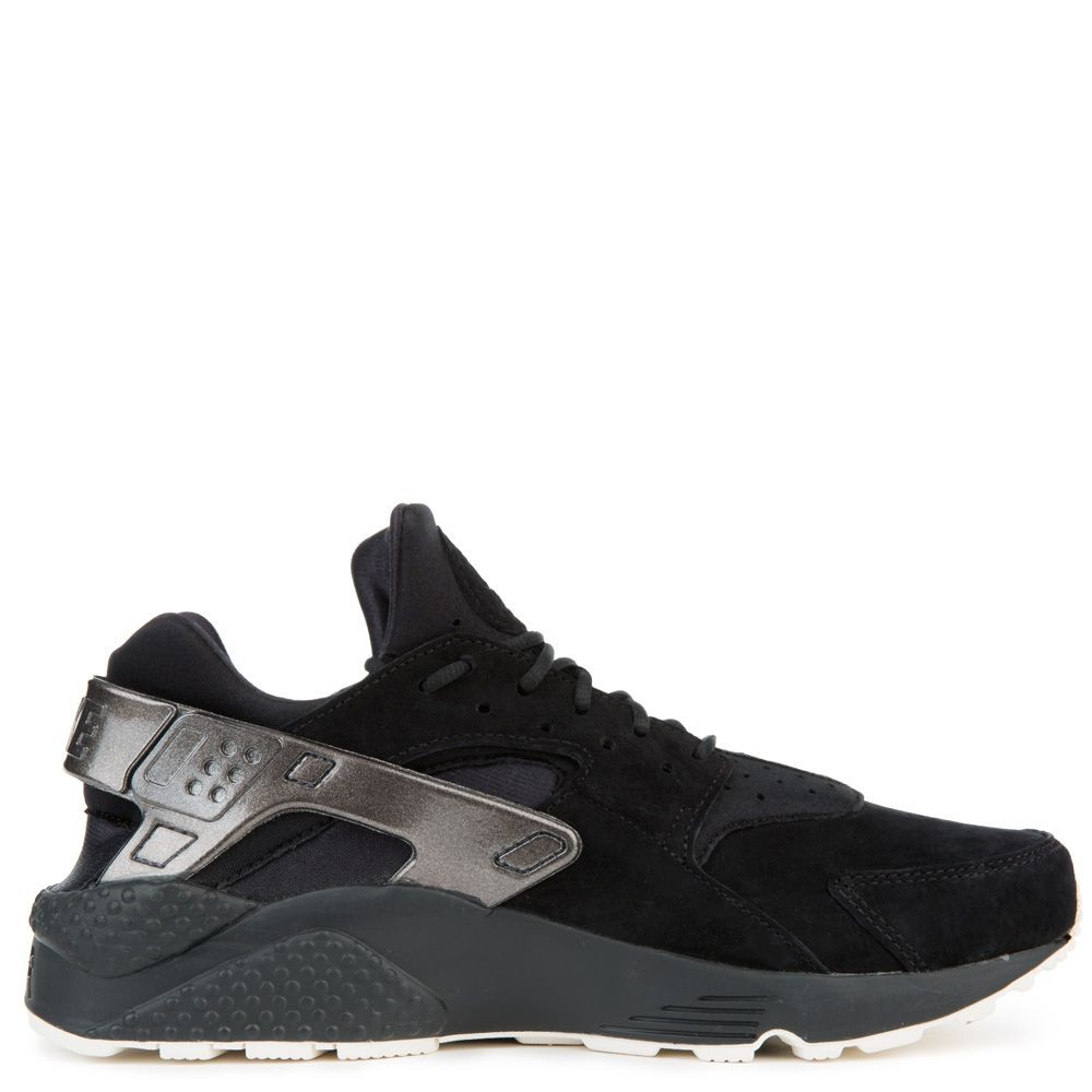 704830-014 Nike Air Huarache Run PRM Scarpe - Nere/Sail