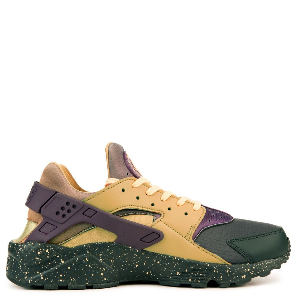704830-012 Nike Air Huarache Run Premium - Anthracite/Viola/Oro