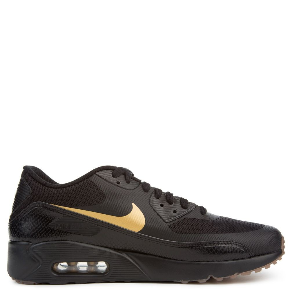 875695-016 Nike Air Max 90 Ultra 2.0 Essential - Nere/Metallic Gold/Marroni