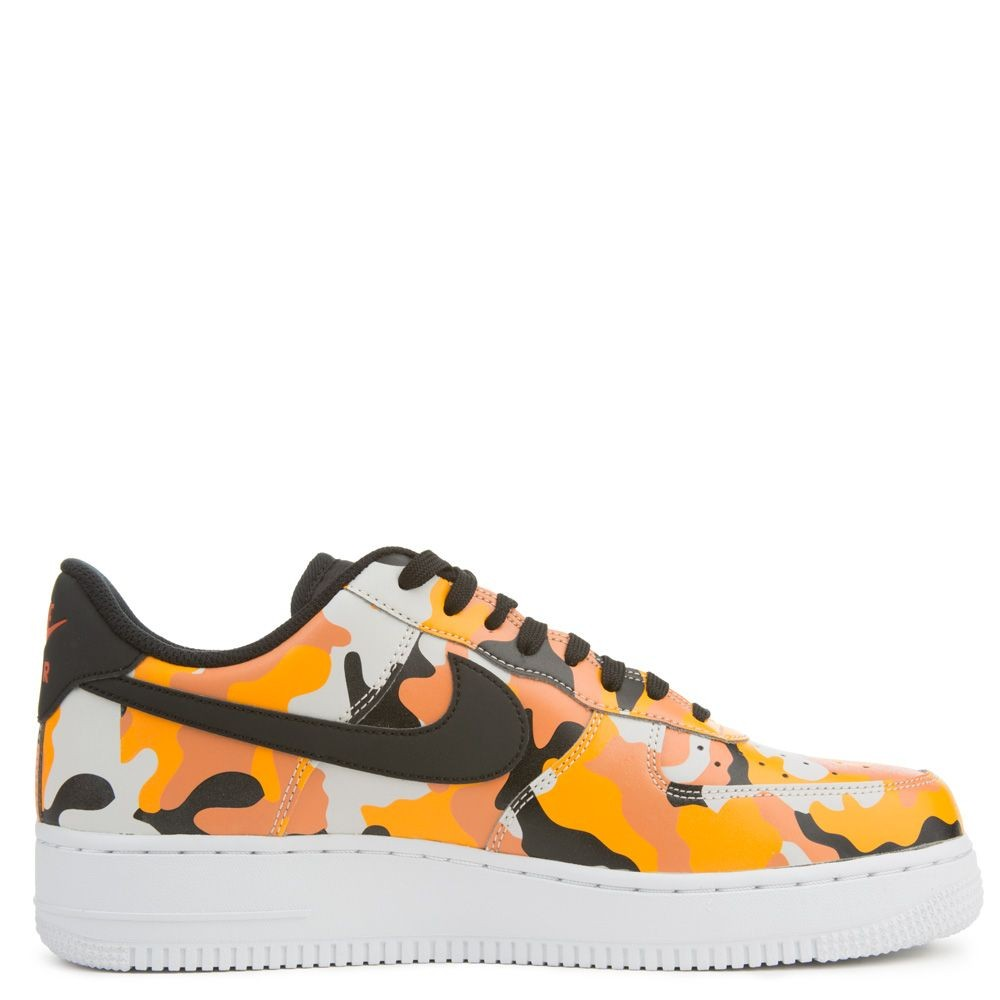 823511-800 Nike Air Force 1 07' LV8 - Arancioni/Nere-Arancioni