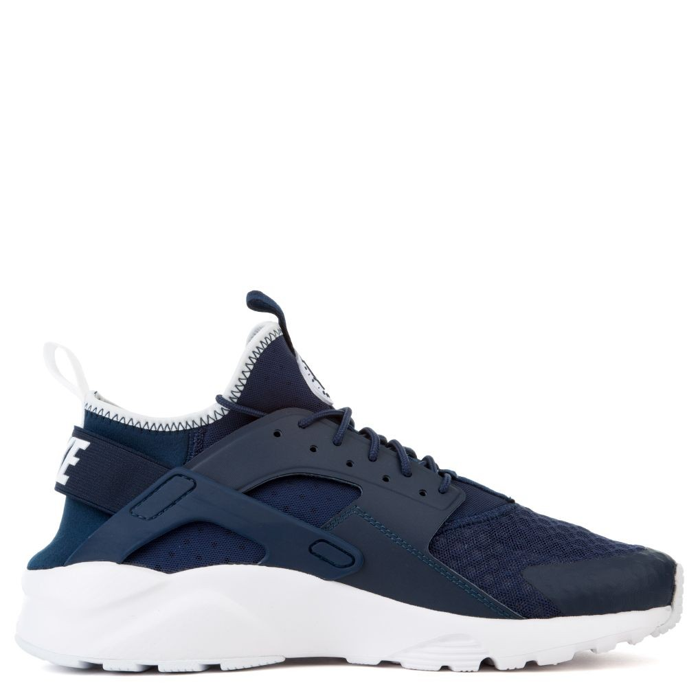 819685-406 Nike Air Huarache Run Ultra - Midnight Navy/Obsidian-Bianche