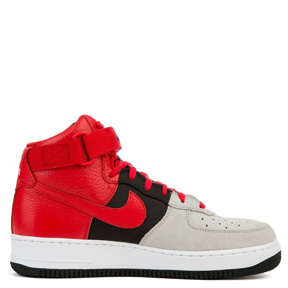 806403-007 Nike Air Force 1 High '07 LV8 - Grigio/Rosse-Nere