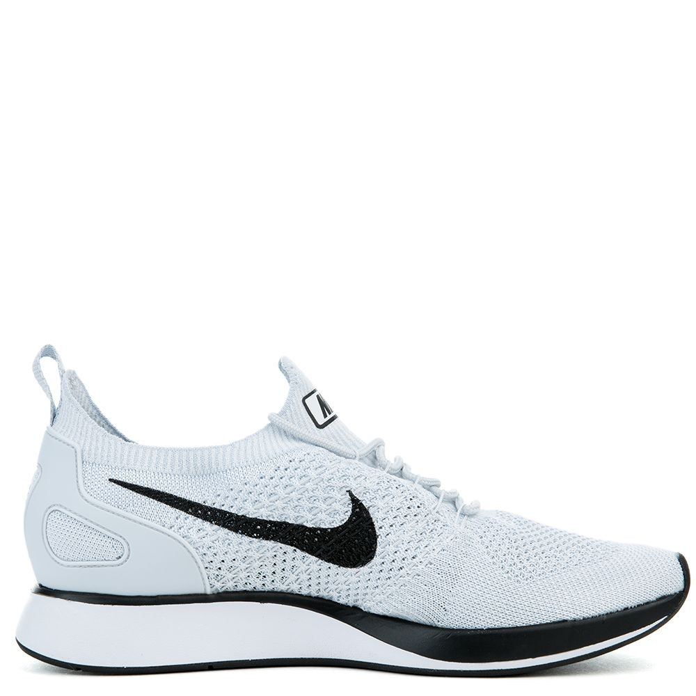918264-002 Nike Air Zoom Mariah Flyknit Racer Scarpe - Pure Platinum/Bianche